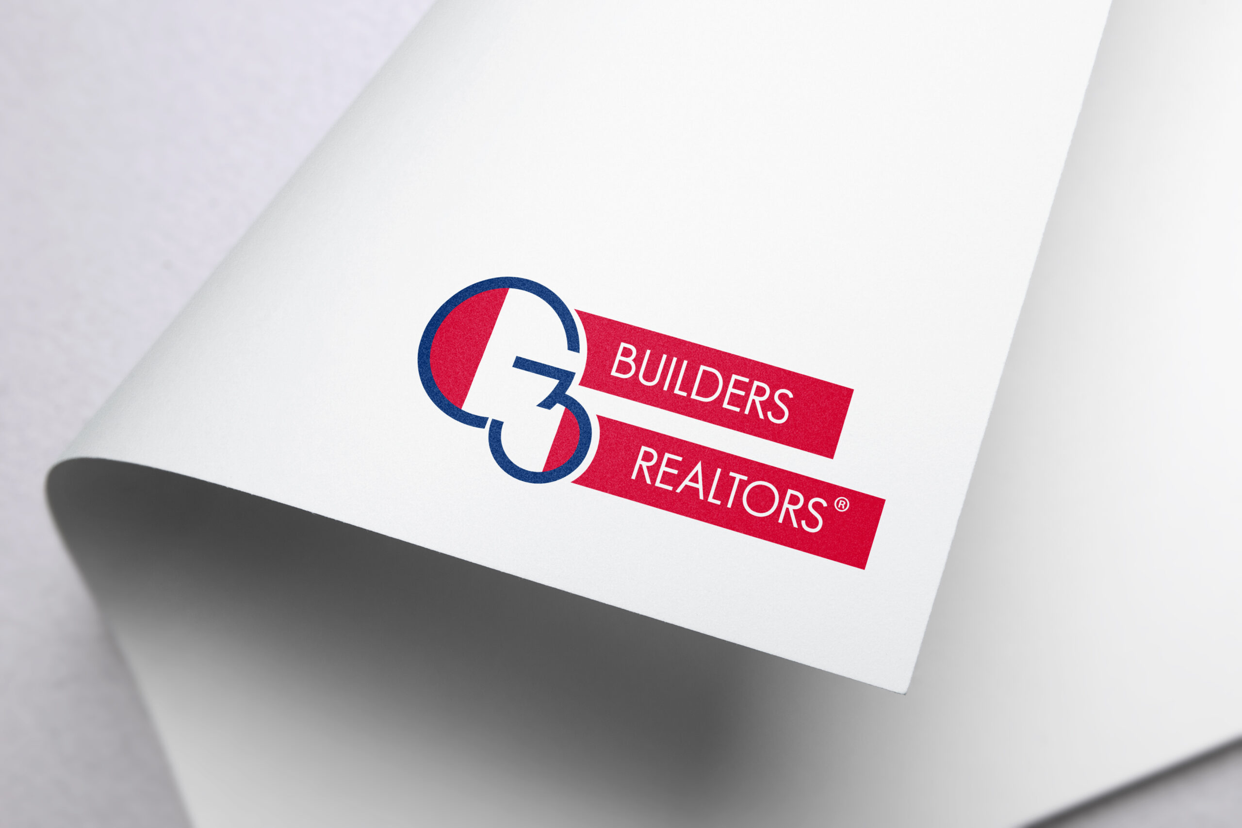 custom logo design for G3 Builders and Realtors by LE Designs, Lindsey Elizabeth Designs, in Lake Country/Waukesha/Brookfield/Milwaukee, graphic design project, graphic designer