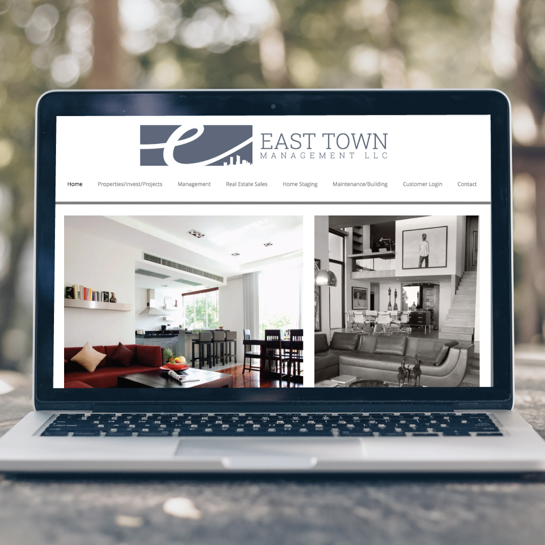 east town logo design
