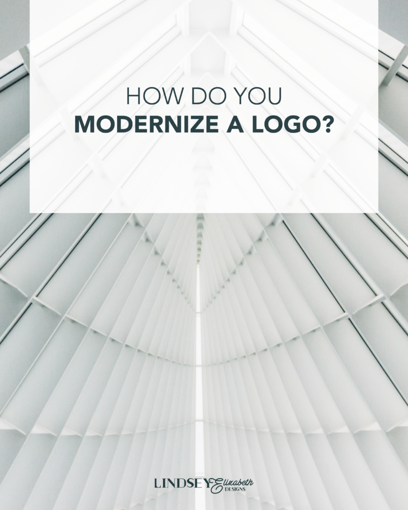 modernize your logo, update existing logo, redesign a logo, rebranding of logo