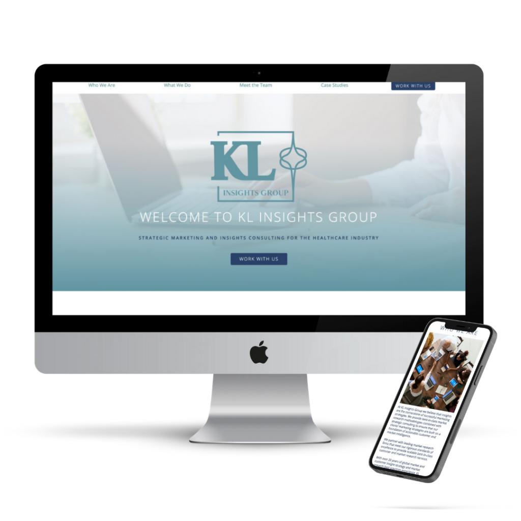 The Whole Shebang KL Insights Group website design graphic design portfolio