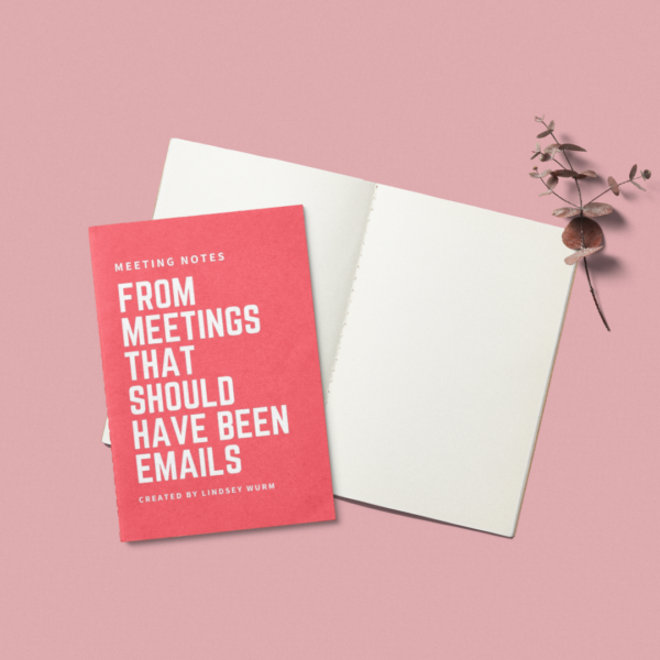 Meeting Notes from Meetings That Should've Been Emails
